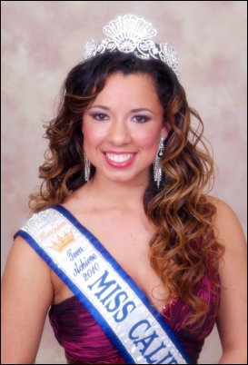 [Mercedes Harvey - 2010 Miss California Teen Achieve]