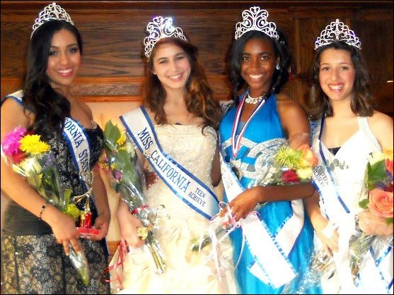 [Miss California Teen Achieve Winners]